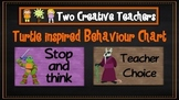 Behaviour Management Chart 'Ninja Turtles' Theme