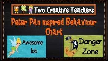 Behaviour Management Chart 'Peter Pan' Theme