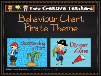 Behaviour Management Chart 'Pirates' Theme 2