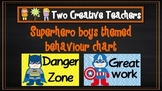 Behaviour Management Chart 'Superhero' Theme