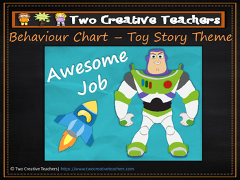 Behaviour Management Chart 'Toy Story' Theme