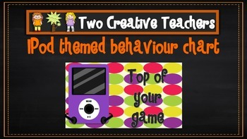 Behaviour Management Chart iPod Theme