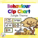 Behaviour Management Clip Chart - Jungle Theme