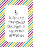 Behaviour Management Pack