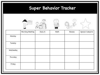 Behaviour Management Package