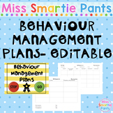 Behaviour Management Plans