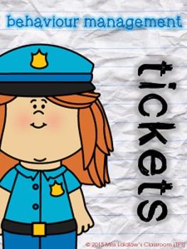 Behaviour Management - Safety Infraction Tickets