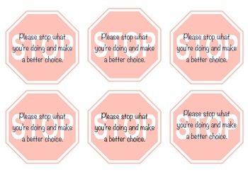 Behaviour Management Tool