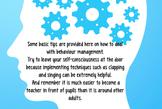 Behaviour management Prezi