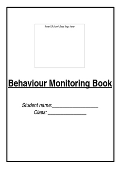 Behaviour Monitoring Book