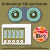 Behaviour Observation - Google Sheets