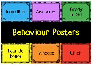 Behaviour Posters