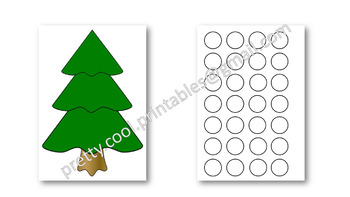 Behaviour Printable: Christmas Baubles on the Tree