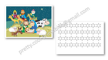 Behaviour Printable: Christmas Stars on the Nativity