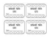 Behaviour Punch Cards