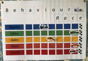 Car Behaviour Race