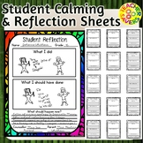 Behaviour Reflection Sheets for class management