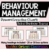 Behaviour Reward Incentive Charts - Boho Rainbow