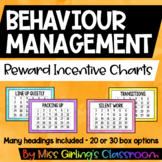 Behaviour Reward Incentive Charts - Rainbow Watercolours