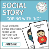 Behaviour Social Story - Coping With No