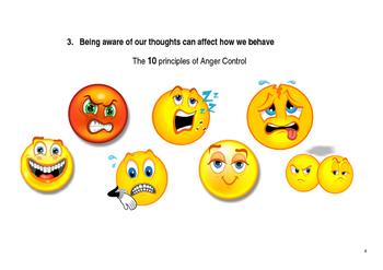 Behaviour Support - 10 Principles of Anger Control