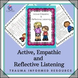 Behaviour Support : Active, Empathic and Reflective Listening