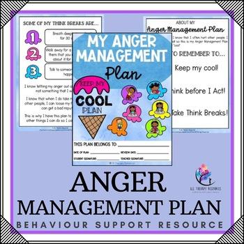 Behaviour Support: Anger Managment Plan