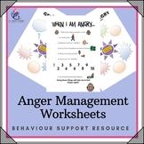 Behaviour Support: Anger Managment Worksheets