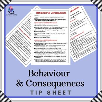 Behaviour Support: Behaviour & Consequences