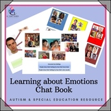 Behaviour Support: Chat Book - Learning About Emotions (Autism Support)