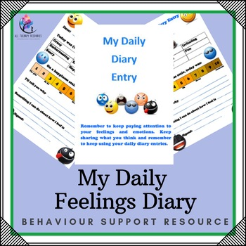 Behaviour Support: Daily Diary Entry