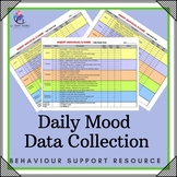Behaviour Support: Daily Mood Chart Data Collection