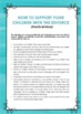 Behaviour Support: Divorce Tip Sheet - How to Support Your
