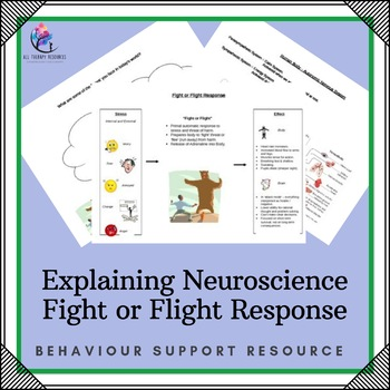 Behaviour Support: Explaining Neuroscience Fight or Flight Response