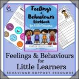 Behavior Support: Feeling & Behavior Workbook (Growth Mindset)
