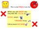 Behaviour Support: Feelings Social Story