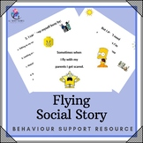 Behaviour Support: Flying Social Story -  Special Education Autism