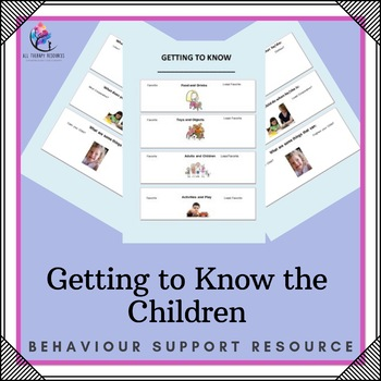 Behaviour Support: Getting to Know the Child
