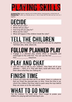 Behaviour Support: How to develop a child's Play Skills