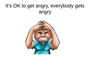 Behaviour Support: Learning to Manage your Anger Social Story (editable)