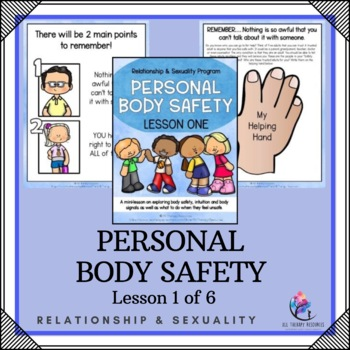 """Behaviour Support: Lesson 1 of 6 - """"Protective Behaviours"""""""