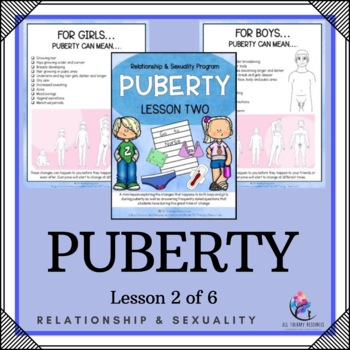 """Behaviour Support: Lesson 2 of 6 - """"Puberty"""""""