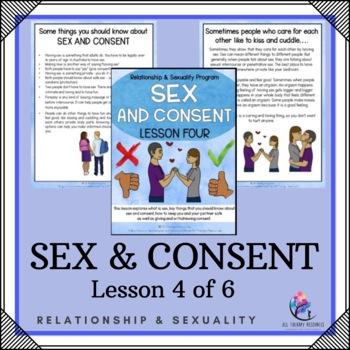 "Behaviour Support: Lesson 4 of 6 - ""Good Sex/ Bad Sex"""