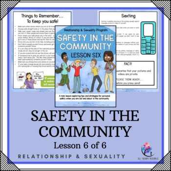 "Behaviour Support: Lesson 6 of 6 - ""Safety in the Community"""