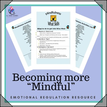 "Behaviour Support: Mindfullness - Helping students becoming more ""mindful"""