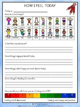 Behavior Support:My Feelings and Behavior Workbook