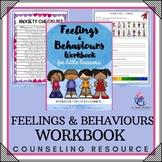 Behavior Support:My Feelings and Behavior Workbook Lesson Plans/growth mindset
