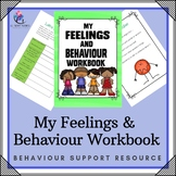 Behavior Support:My Feelings and Behavior Workbook Lesson Plans/growth mindset