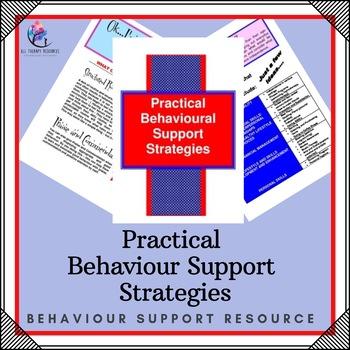 Behaviour Support: Practical Behaviour Support Strategies