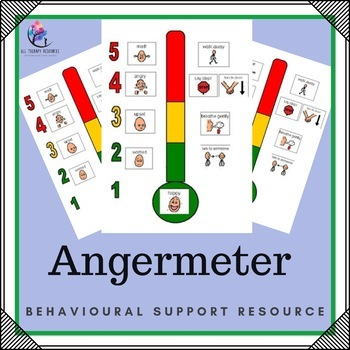 Behaviour Support Resource: 1 Page Angermeter (Emotional Regulation)